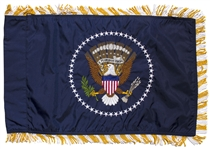 U.S. Presidential Limousine Flag -- Style Used in George W. Bush and Barack Obamas Motorcade