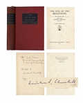 Winston Churchill Signed Collection of War Speeches -- Signed in 1943 as WWII Raged