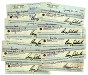 Lot of 10 Checks Signed by Conservative Icon Barry Goldwater -- While Senator of Arizona