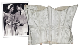 Lucille Balls Corset From Her Second Wedding to Desi -- With a COA From Lucie Arnaz