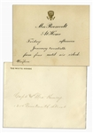 Edith Roosevelt White House Invitation