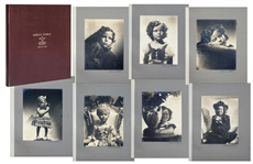 "Shirley Temple Owned Large Portrait Photo Album of Hurrell Photographs From 1937 Film ""Heidi"""