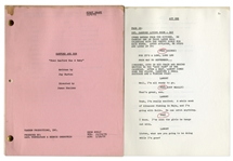 Sanford & Son Script, With Redd Foxxs Notes -- First Draft of Fred Sanford Has a Baby Dated 6 November 1975 -- 36pp. -- Very Good Condition -- From the Redd Foxx Estate
