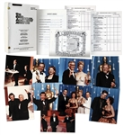 68th Academy Awards Presentation Final Draft Script With Detailed Schedule, Staff List, Rundown & Script -- With 9 Original Photos of Award Winners