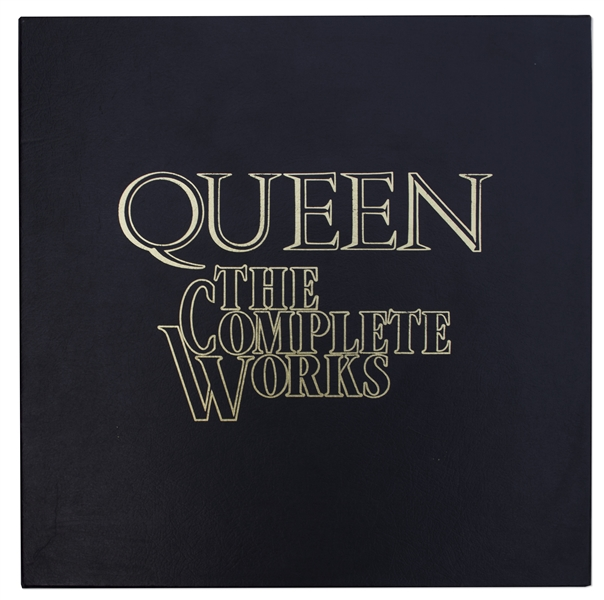''Queen The Complete Works'' Autographed by All Four Band Members -- One of 600 in a Signed Limited Edition