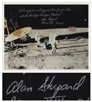 Alan Shepard Signed 10 x 8 Photo