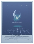 Alien Original Lithographic Poster From 1979
