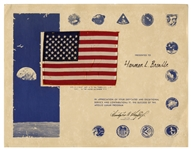 U.S. Flag Flown to the Moon on the Apollo 17 Mission
