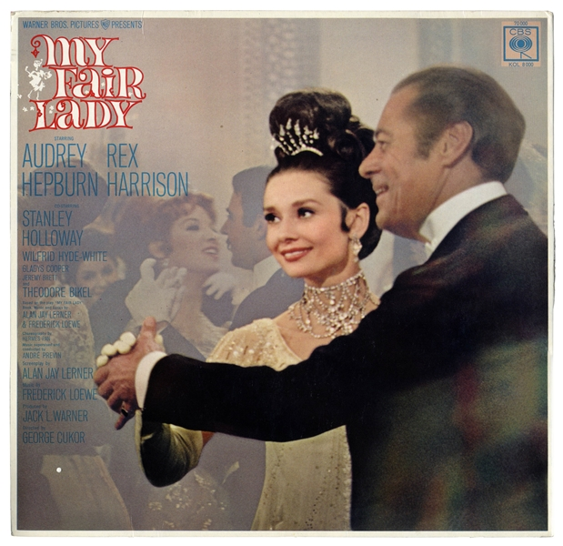 Audrey Hepburn ''My Fair Lady'' Signed Soundtrack Album -- With Beckett COA