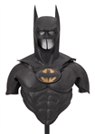 Batman Forever Batman Costume Featuring Cowl, Shoulders, Chest & Iconic Bat Symbol
