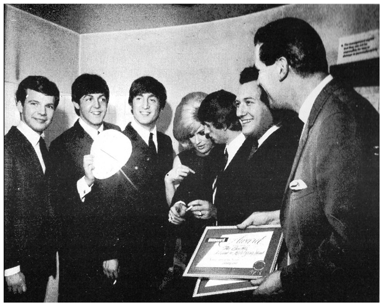 The Beatles 1964 Billboard Award for ''Can't Buy Me Love''