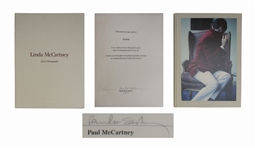 Paul McCartney Signed Life in Photographs -- Taschen Limited Edition Photo Book