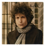 Bob Dylan Signed Double Album Blonde on Blonde