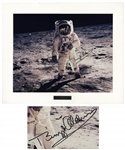 Buzz Aldrin Apollo 11 Signed 14 x 11 Photo