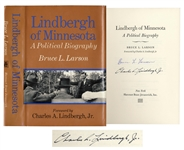 Charles Lindbergh Signed Copy of Lindbergh of Minnesota