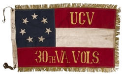 30th Virginia Civil War Reunion Flag
