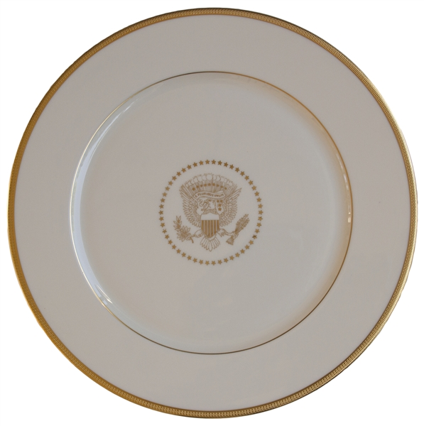 Lenox China Service Plate From the Bill Clinton White House