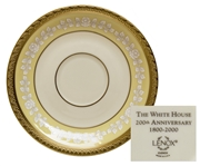 Clinton White House China -- Saucer Used in State Dinners