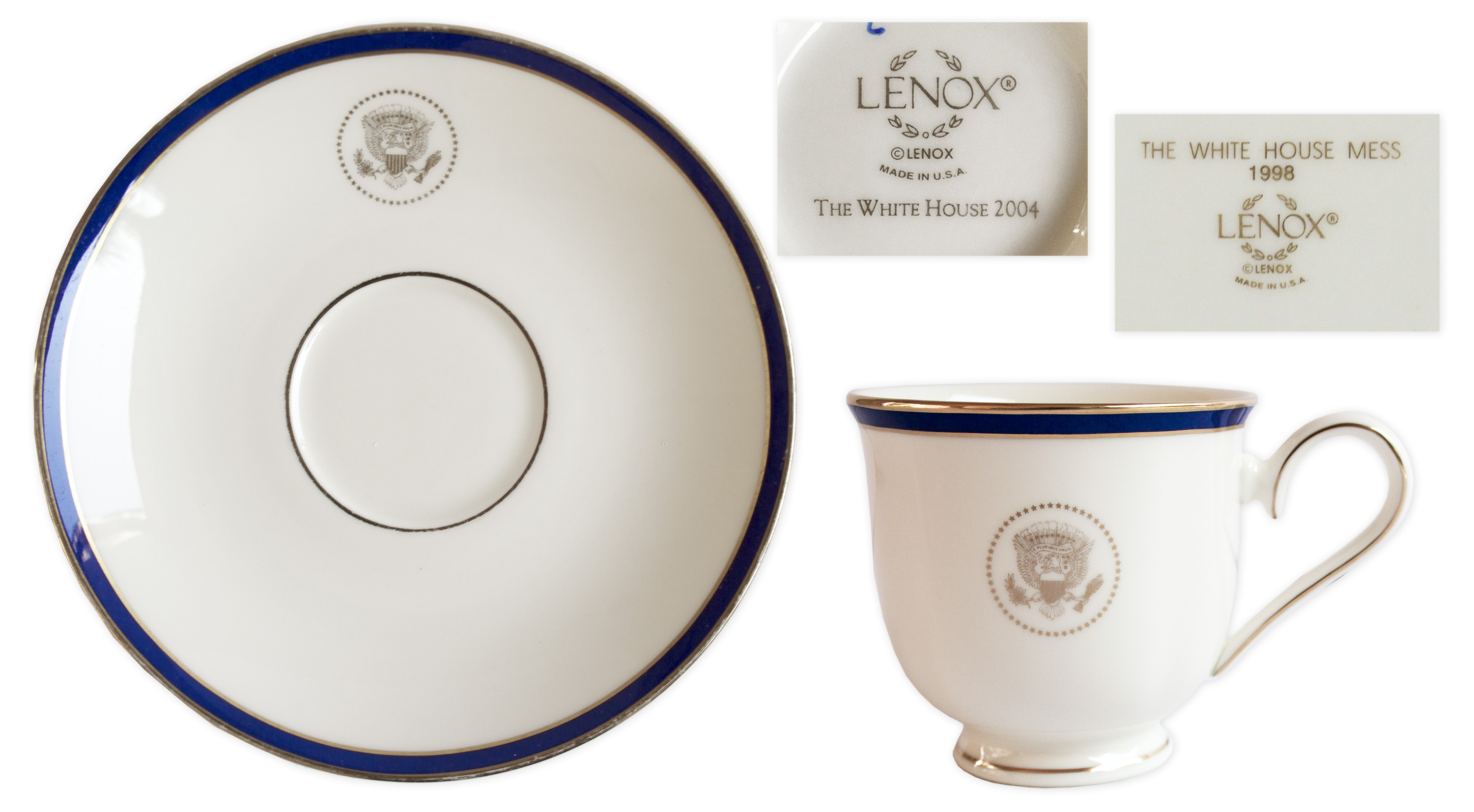 White House China From the Bill Clinton u0026 George W. Bush Administrations -- For ...  sc 1 st  Nate D Sanders & Lot Detail - White House China From the Bill Clinton u0026 George W ...