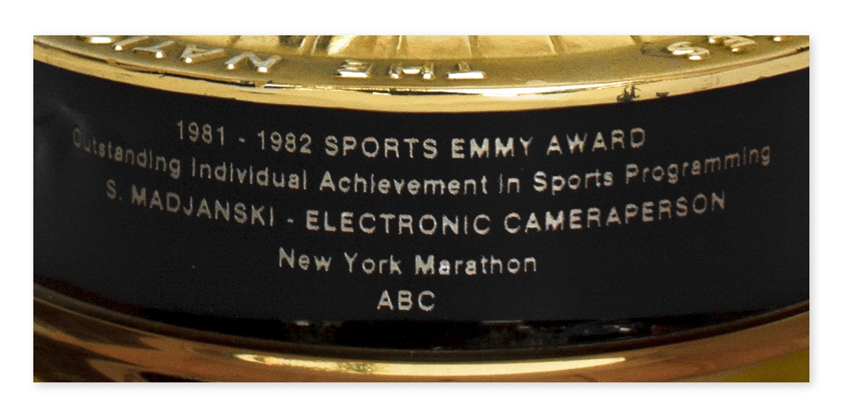Sports Emmy for the 1981 New York Marathon