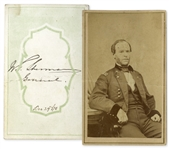 General William Tecumseh Sherman Signed CDV Photo
