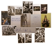 Helmut Newton Signed Volume of His Photography Masterpiece, Published in a Limited Edition by Taschen -- With the Phillipe Starck Display Stand, All in Near Fine Condition