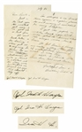Ira Hayes WWII Autograph Letter Signed 3x -- With Native-American Content & His Well-Being After Iwo Jima: ...as I said time again + again please do not worry, I couldnt be any happier...