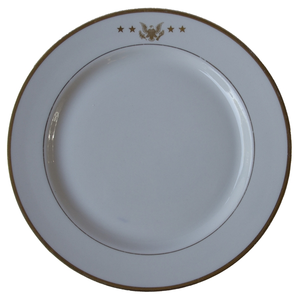 John F. Kennedy Presidential China -- Used in the Dining Room of the Presidential Yacht, the ''Honey Fitz''