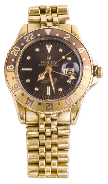 Jack Swigert's Personally Owned Rolex GMT Master -- Possibly the Same Rolex Given to Him by Rolex's CEO Rene Jeanneret in Exchange for the Rolex That Helped Save the Apollo 13 Crew
