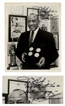 Olympic Track & Field Hero Jesse Owens 8 x 10 Photo Signed