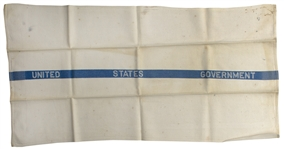 U.S. Senate Towel Used by John F. Kennedy, From His Senate Office Bathroom