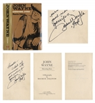 John Wayne Signed Biography John Wayne / Shooting Star -- ...Without my permission but good reading for gossips...