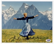 Julie Andrews Signed 10 x 8 Photo From The Sound of Music -- PSA/DNA Certified