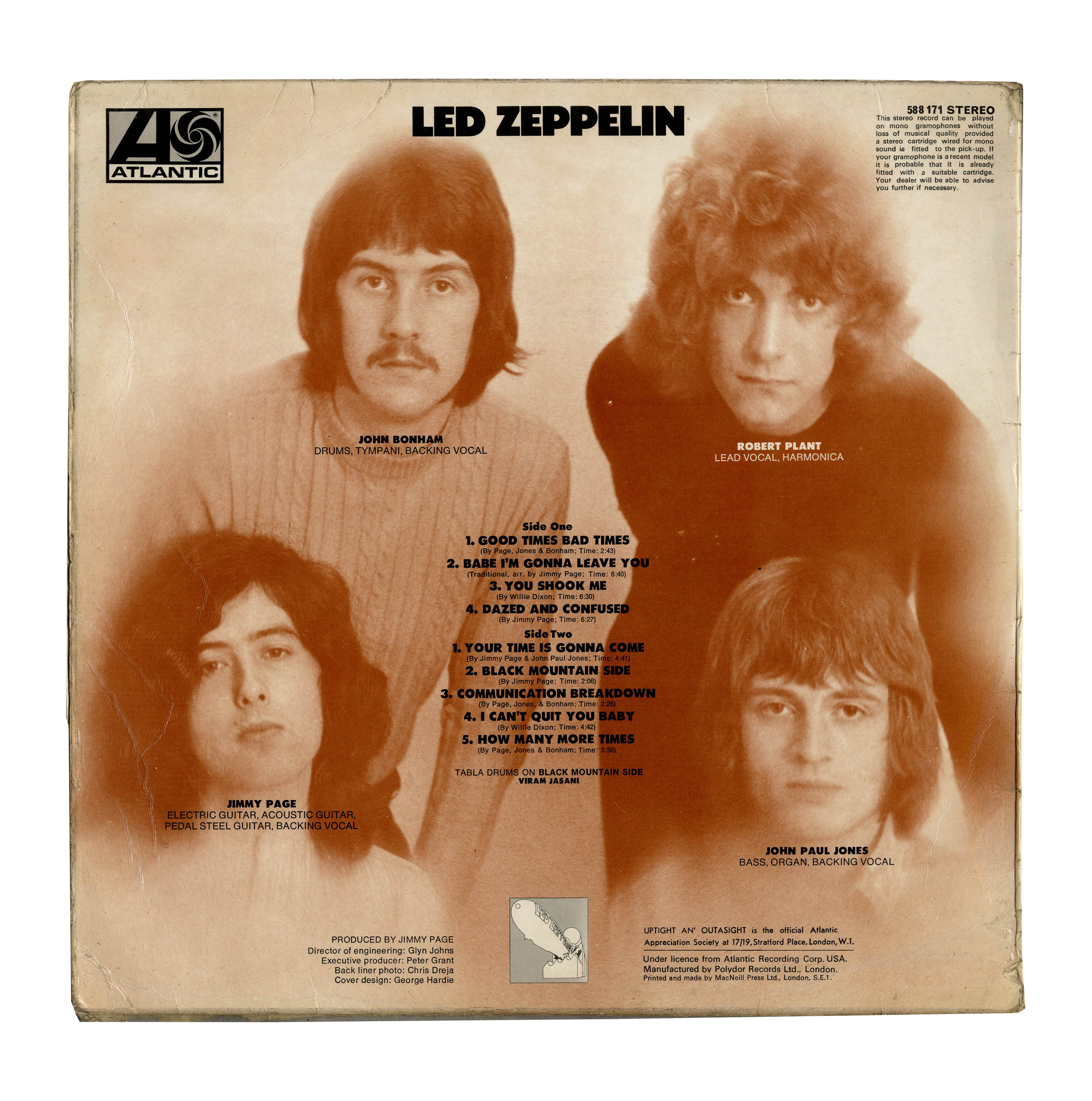 Led Zeppelin: The First Album