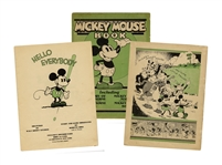 Premiere Issue of the Mickey Mouse Book in 1930