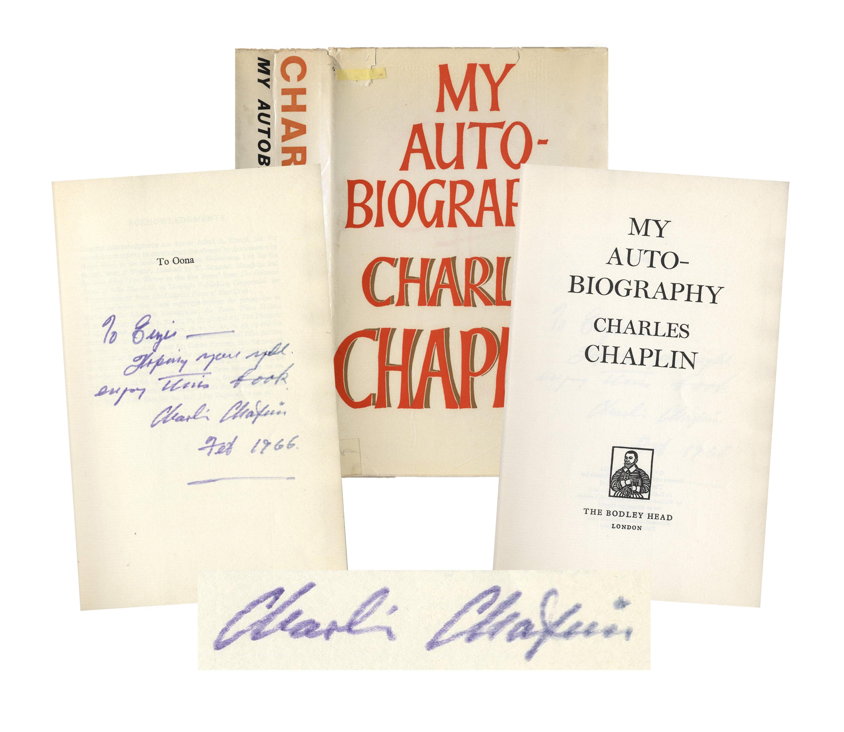 autobiography of charlie chaplin essay