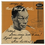 Nat King Cole Signed Album, Songs by Nat King Cole