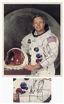 Neil Armstrong Signed 8 x 10 Photo, Uninscribed