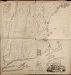 1774 Map of New England -- The First Large Scale Map of New England Used for the American Revolution -- From Thomas Jefferys American Atlas