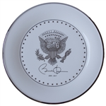 Barack Obama White House Service Plate -- Measures 11.75, Ideal for Display