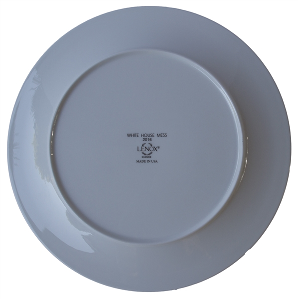 Barack Obama White House Service Plate -- Measures 11.75'', Ideal for Display