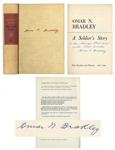 General Omar Bradley A Soldiers Story Signed -- Based on Bradleys Personal Diaries During WWII
