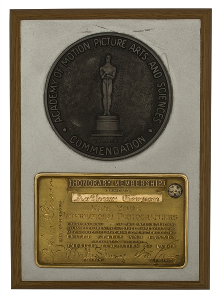 Academy Award Commendation Medal