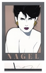 Patrick Nagel Signed Limited Edition Seriagraph of Kristen From 1983 -- One of Nagels Most Popular Models