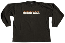 Patrick Swayze Owned T-Shirt From His Film Black Dog