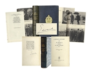 Gorgeous Limited Edition of A Kings Story Signed by Edward, Duke of Windsor -- ...I have found it impossible to carry the heavy burden...