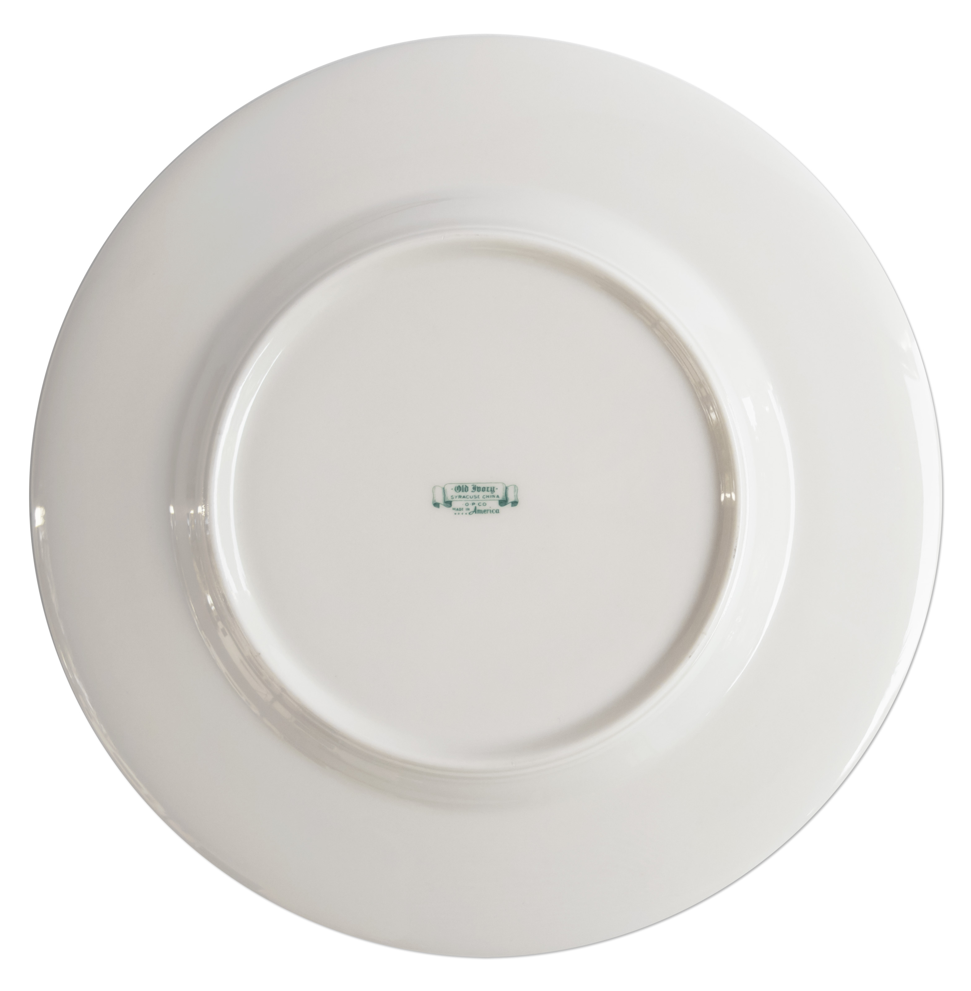China Dinner Plate Used During The Reagan