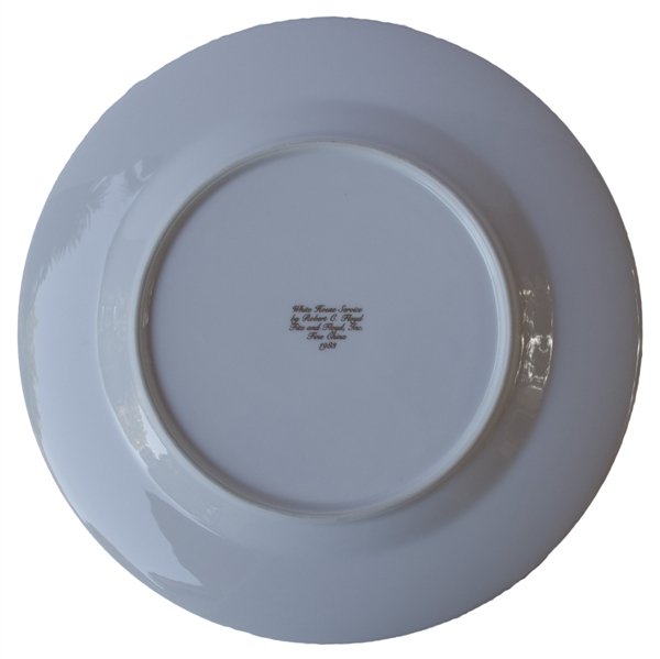 Ronald Reagan Presidential China -- Service Plate Measuring 12'', Ideal for Display