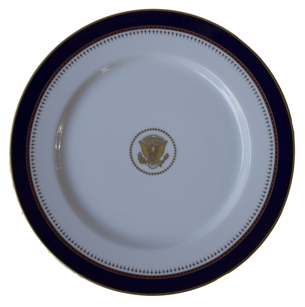 Ronald Reagan White House Dinner Plate -- Used in the Private Residence of Mr. and Mrs. Reagan