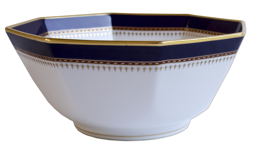 Ronald Reagan Presidential Serving Bowl -- Dramatic Statement Piece
